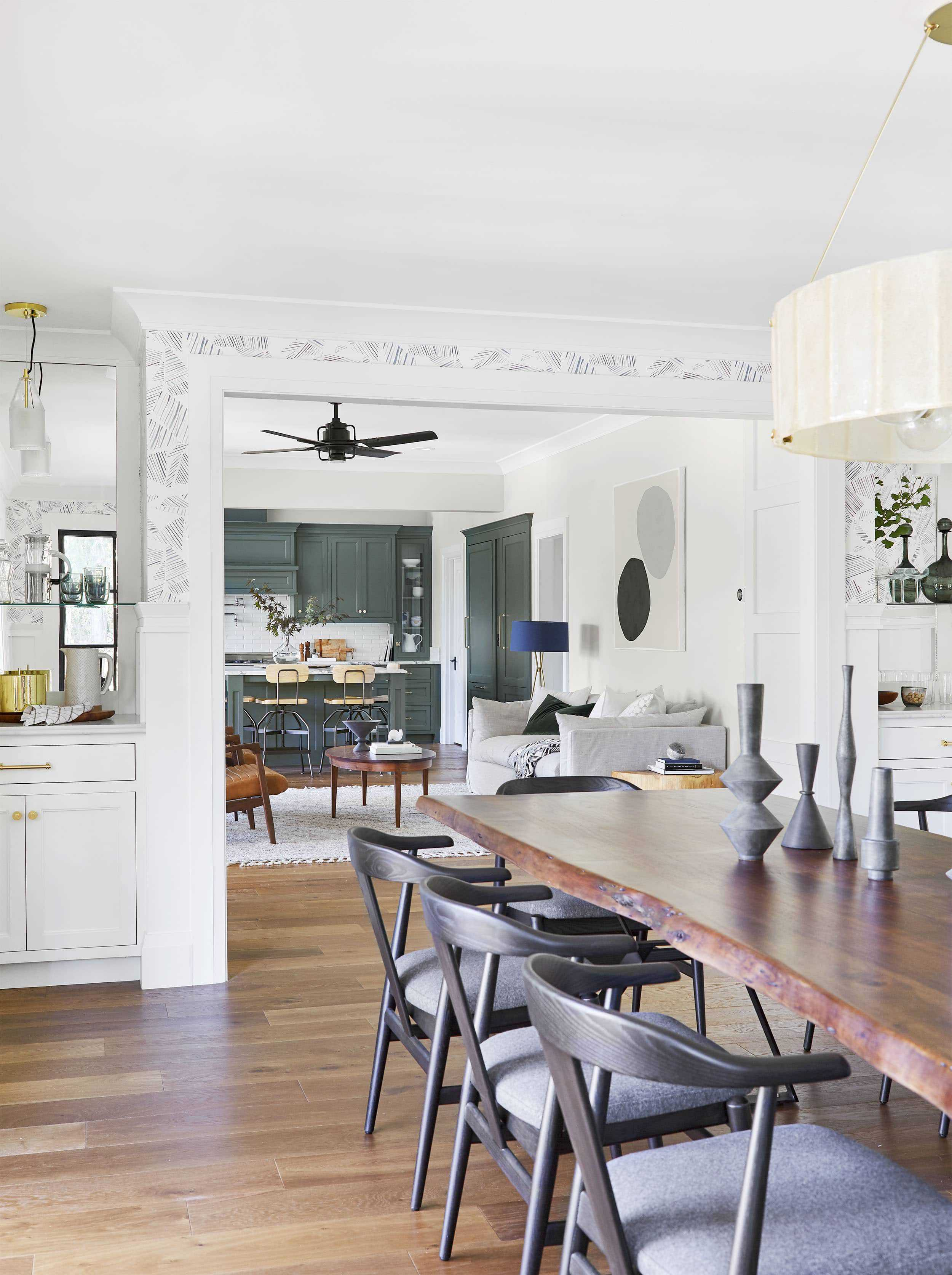 Emily Henderson Portland Traditional Dining Room16