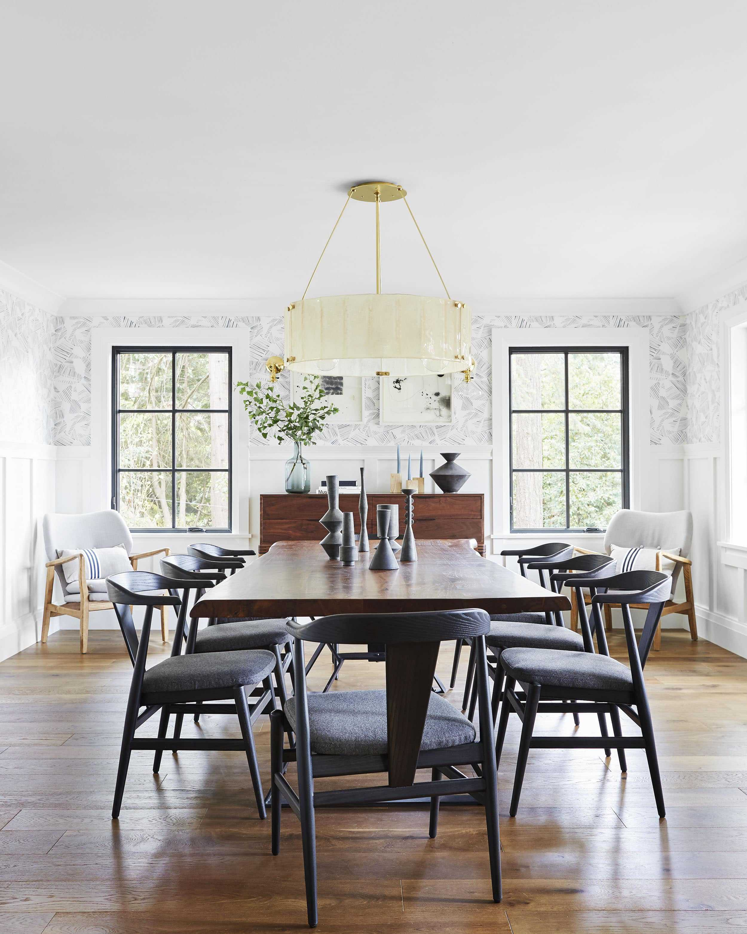 Emily Henderson Portland Traditional Dining Room30