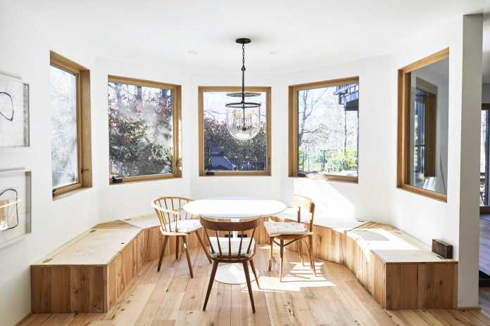 Mountain House Monday An Update On The Dining Banquette Ask The Audience Emily Henderson