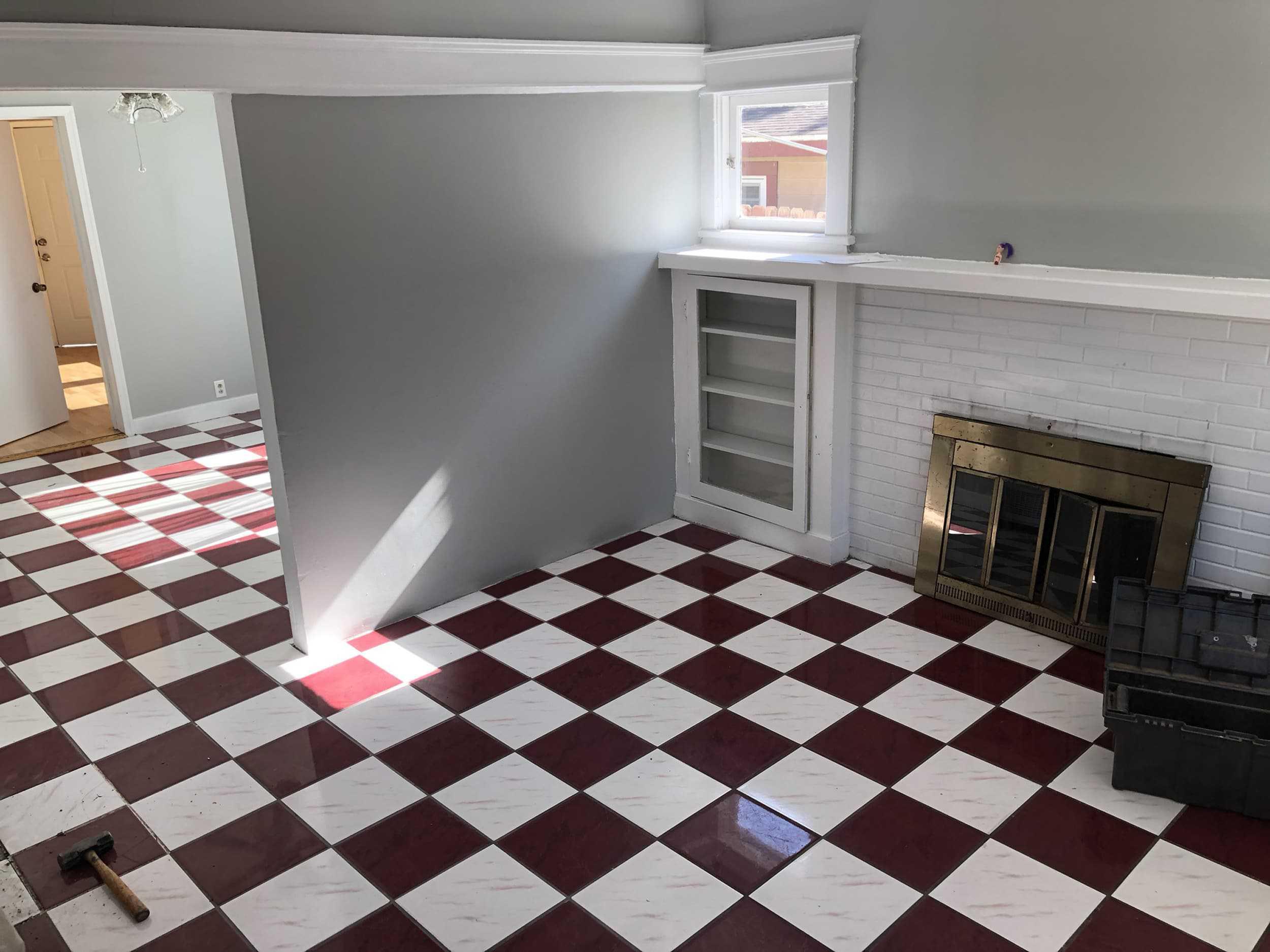 tile when renovating