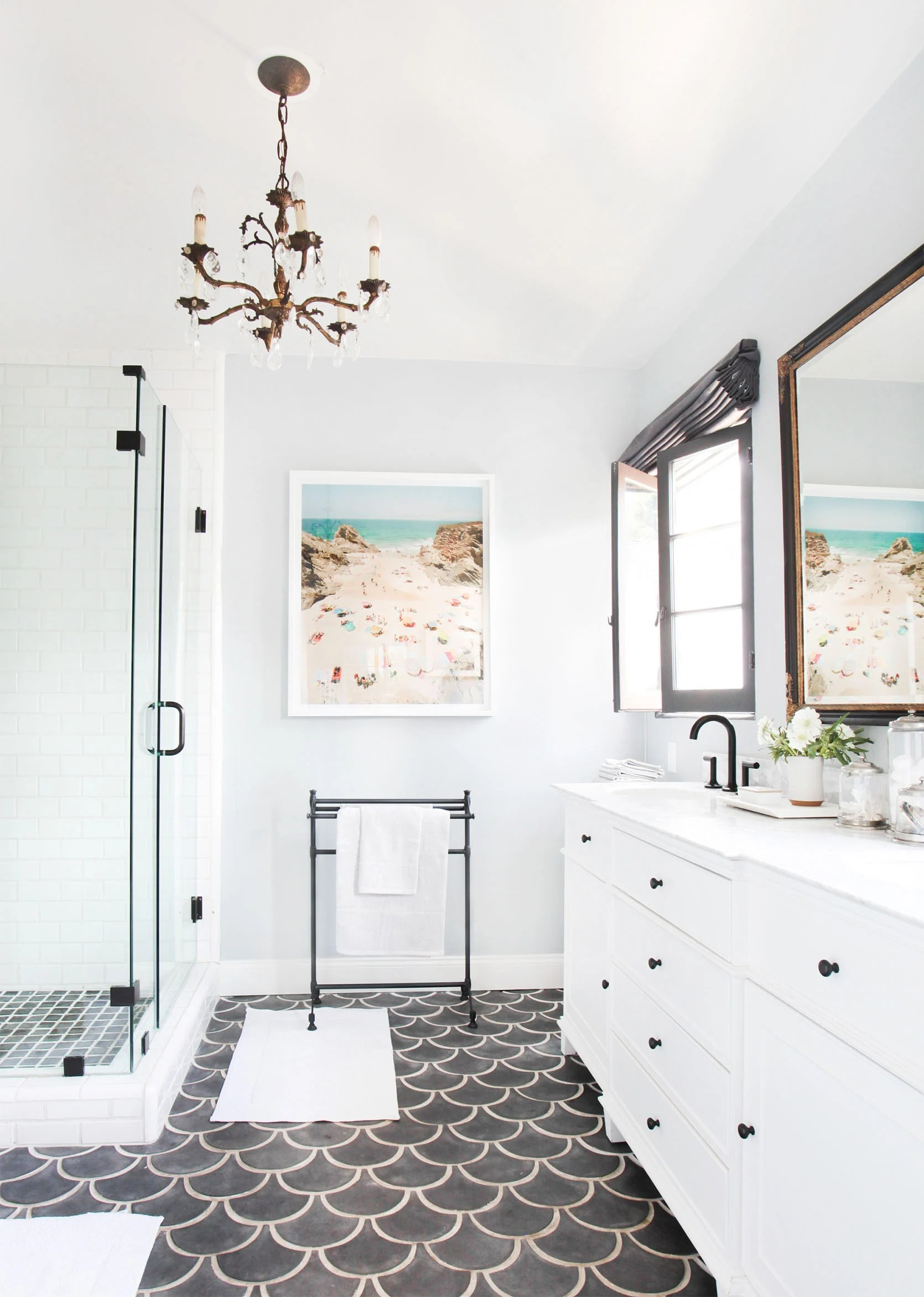 bathroom than kitchen