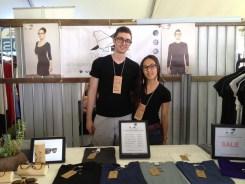 Daniel Andrew (Director of Operations) & Tiffany (Director of Design)