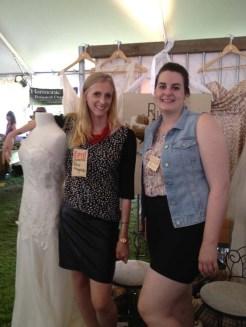 Rachel McHollister & a fellow Pure Magnolia associate