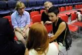 Miranda interviewing Noe Bernacelli... with some translation help!