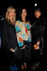 Lovely ladies in attendance of Nicole Bridger's show