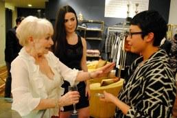 Sue Ennis & Miranda chatting