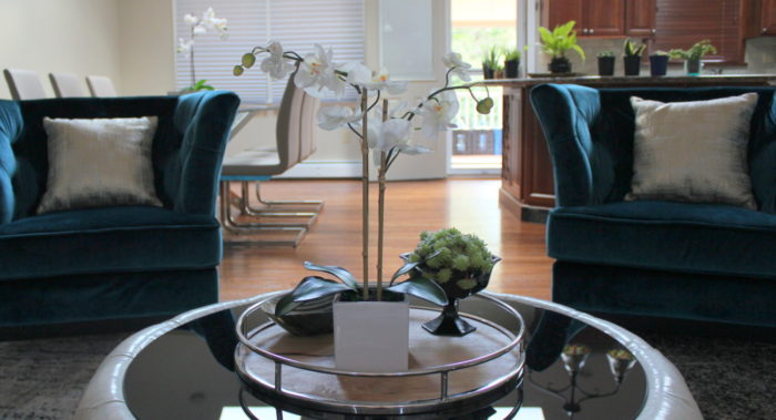 Open Layout Living Room Design by Style by Mimi G, Interior Decorator and E-Designer