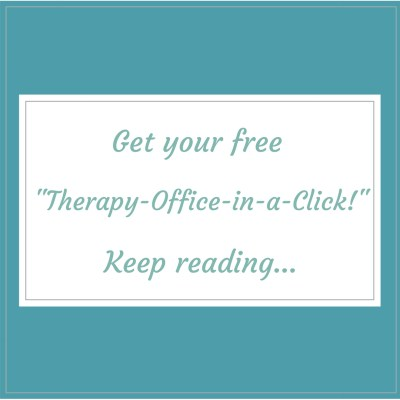 Therapy Office E-design by E-designer, Style by Mimi G