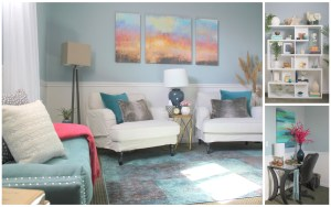 Therapy Office by Style by Mimi G, Interior Decorator and E-Designer, Monsey, NY