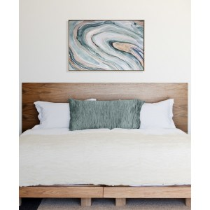 Relaxing and calming wall art from a Therapy Office Blog - www.stylebymimig.com