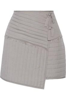 Tibi Juna wrap mini skirt