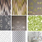 Get the Look: More Grey & Green Wallpaper (Because I Am Obsessive)