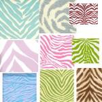 Get the Look: Zebra Swatches