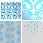 Get the Look: Wallpaper in Ocean Hues
