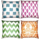 Sponsor Love: Fabricadabra Ikat Pillows