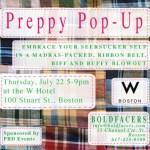 Shopping Alert: Boldfacers Preppy Pop-Up