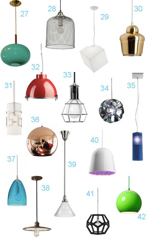 41 Modern Kitchen Lighting Pendants
