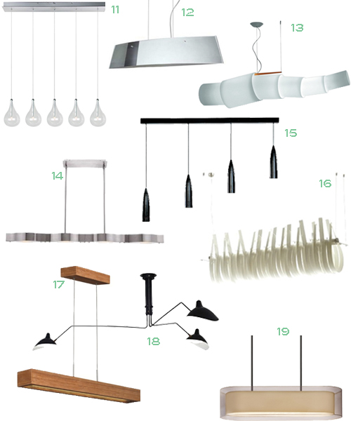 Get The Look 34 Linear Suspension Lights Stylecarrot