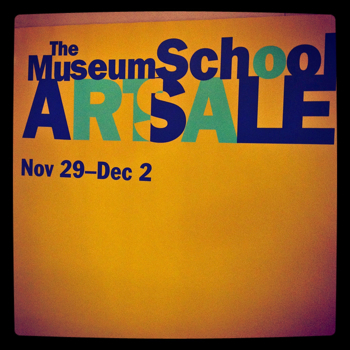 SCHOOL OF MUSEUM OF FINE ARTS BOSTON ART SALE
