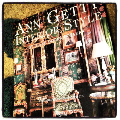 ANN GETTY DECORATING STYLE BOOK