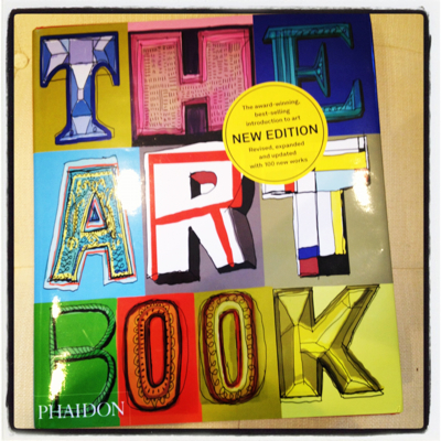 THE ART BOOK NEW EDITION PHAIDON 2012