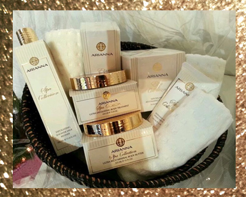 ARIANNA SKINCARE BEAUTY PRODUCTS FACIAL TREATMENTS GIVEAWAY