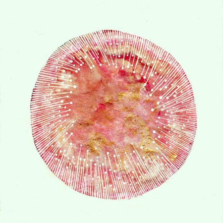 ABSTRACT WATERCOLOR ELISE MAHAN