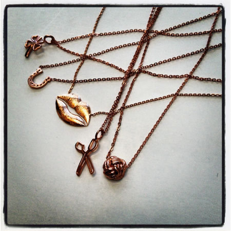 ROSE GOLD FASHION PENDANTS