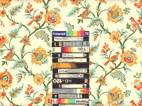 Close VHS (Entry Hall Wallpaper) By Hollis Brown Thornton