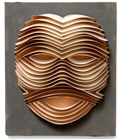 Irving Haper paper sculpture