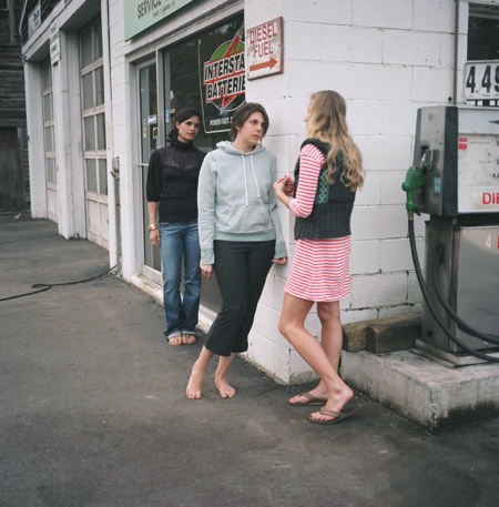 Ranee Palone Flynn Girls on Street Corner