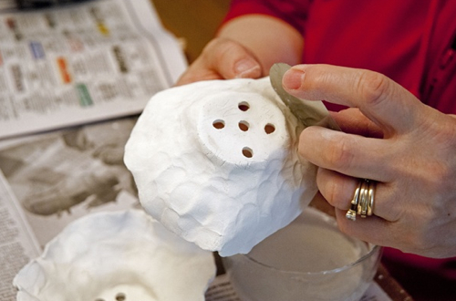 Snowbound Pottery Anna Kasabian In Progress