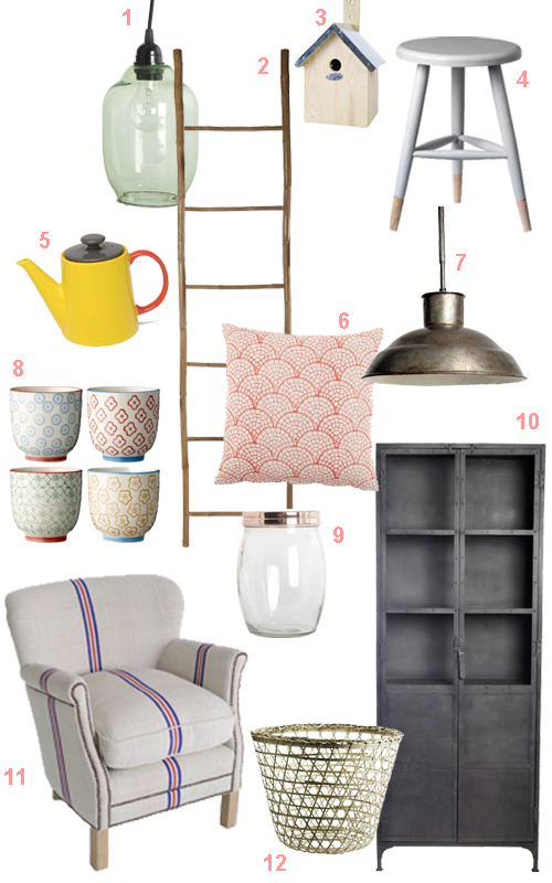 Idlyll Home Vintage Modern Industrial Furnishings