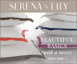 Serena & Lily Sheets With Colored Borders