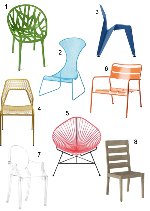 Modern Outdoor Patio Chairs