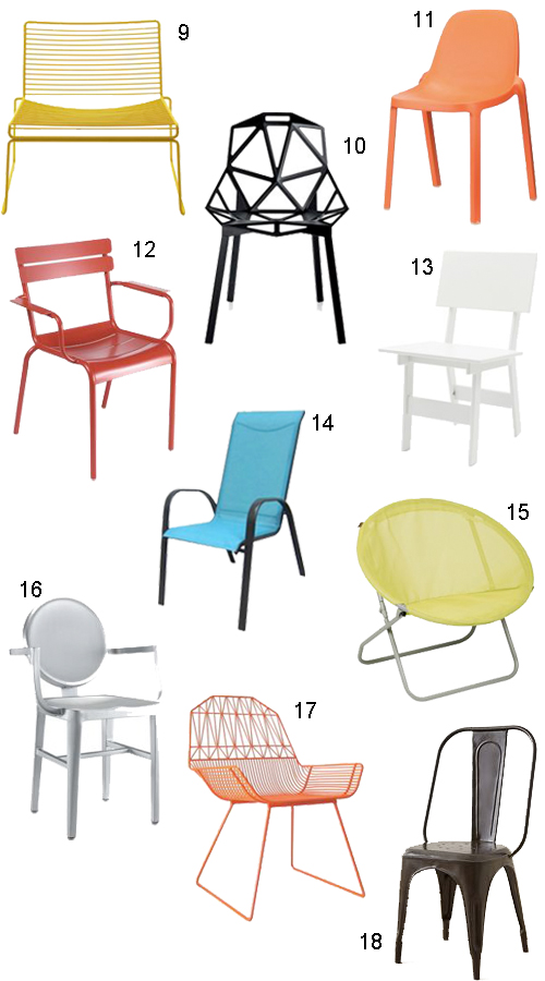 Captivating Modern Outdoor Patio Chairs