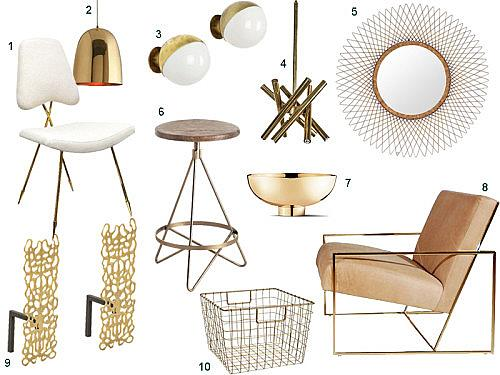 Get the look brass accents stylecarrot
