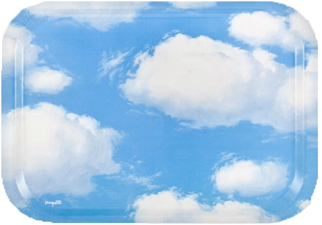 Cloud Tray Magritte MOMA