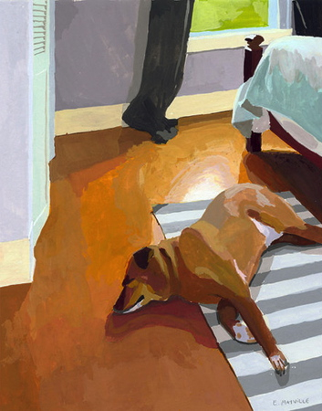 art furbish Elizabeth_Mayville_Bruce_Sleeping_Print__74208.1380213687.450.450