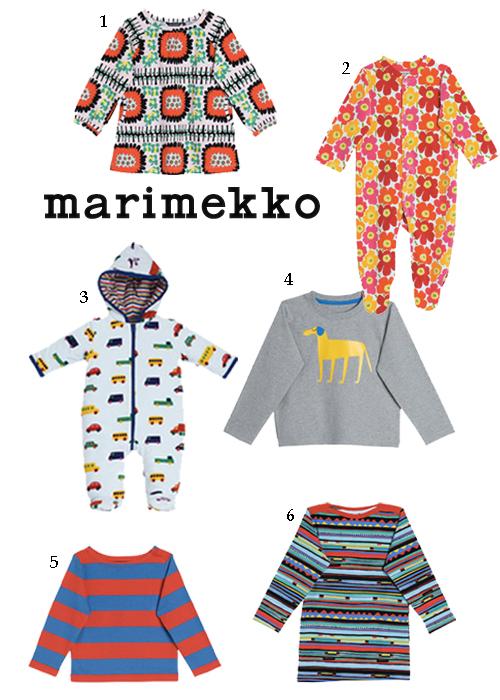 Marimekko Clothing For Girls Boys Baby