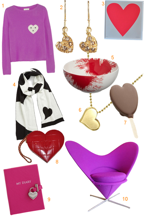 Heart Shaped Gifts For Valentine's Day