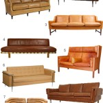 Get the Look: 28 Leather Sofas in Cognac, Tobacco & Caramel