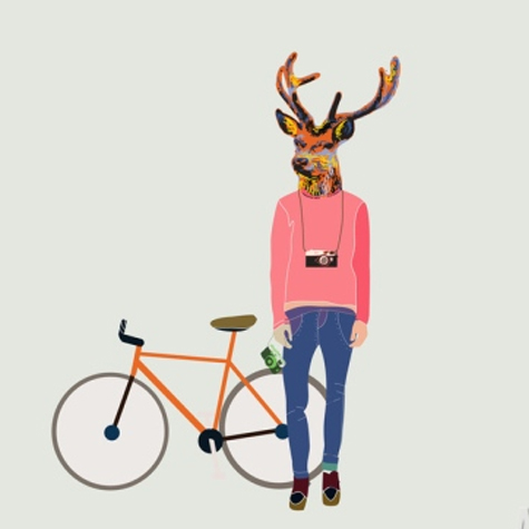 run4it-fashionable-hipster-deer