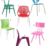 Get the Look: 30 Colorful Dining Chairs