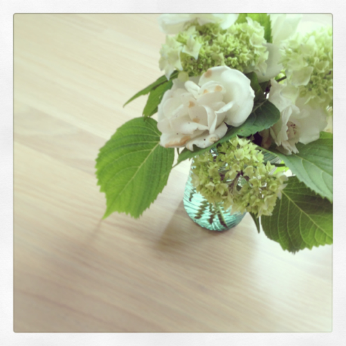 Roses and Hydrangeas from Cape Cod StyleCarrot