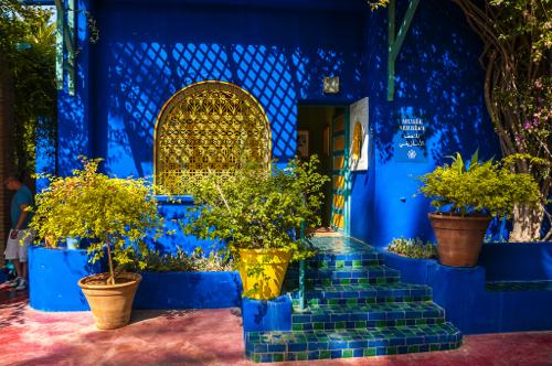 majorelle-gardens-blue-wall