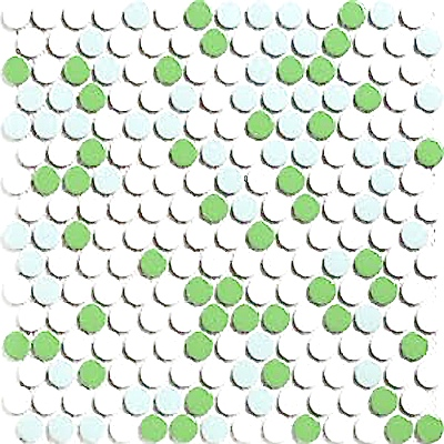 mixed-green-penny-tile