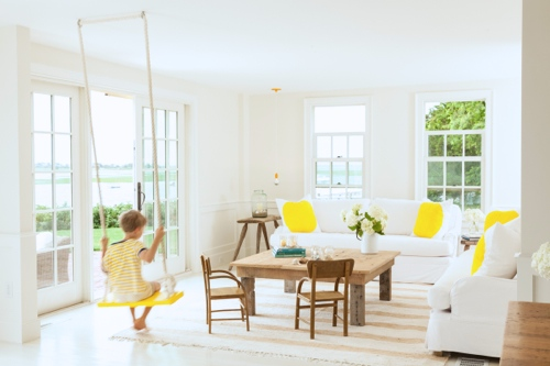Cape Cottage WIth Living Room Swing