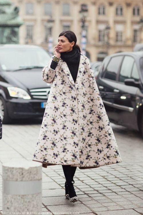 floral-coat-Giovanna Battaglia - Rochas coat.