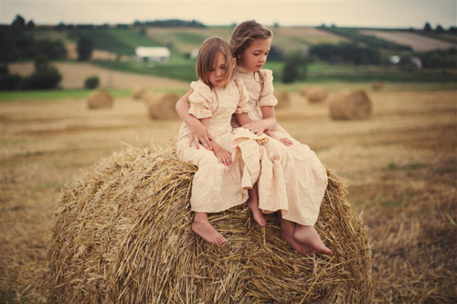 Princess By Talia Rainyk Photograph Of Two Girls